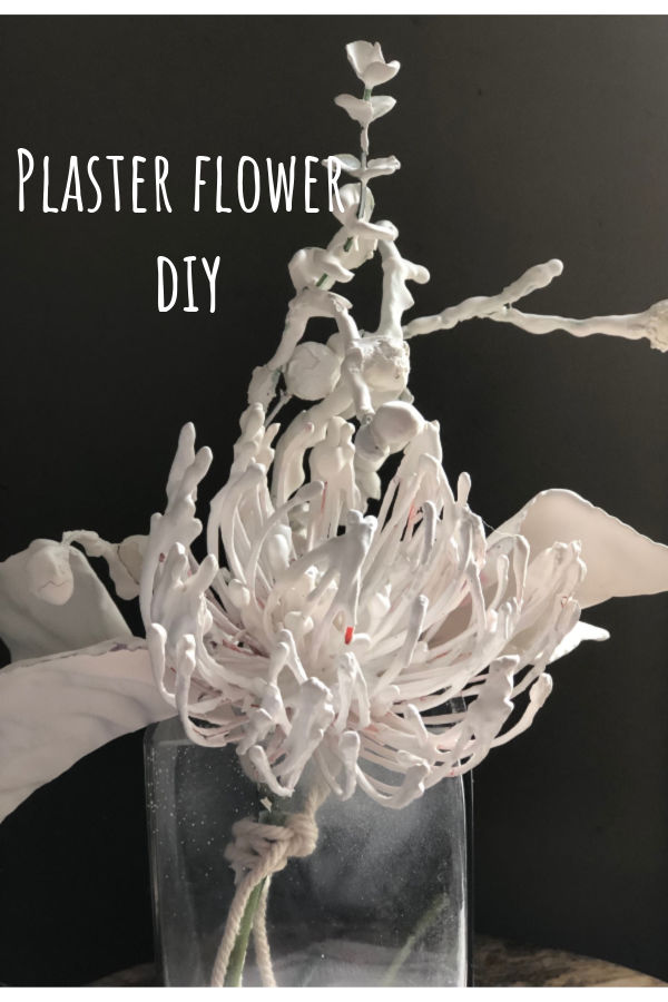 Always wanted to try to turn silk flowers into plaster, ceramic art. Plaster of paris EASY BUT ELEGANT flowers DIY. HOME DECOR Dollar Tree craft at its best