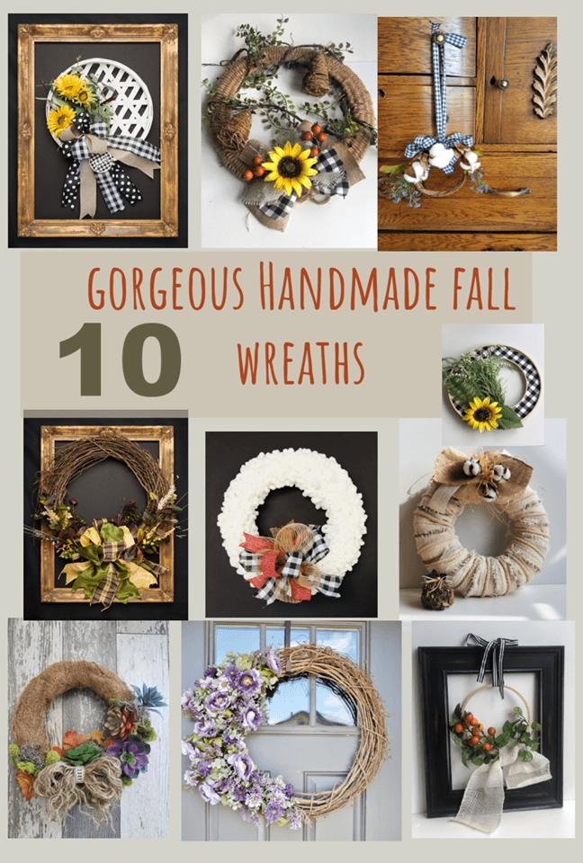 10 gorgeous fall wreath ideas
