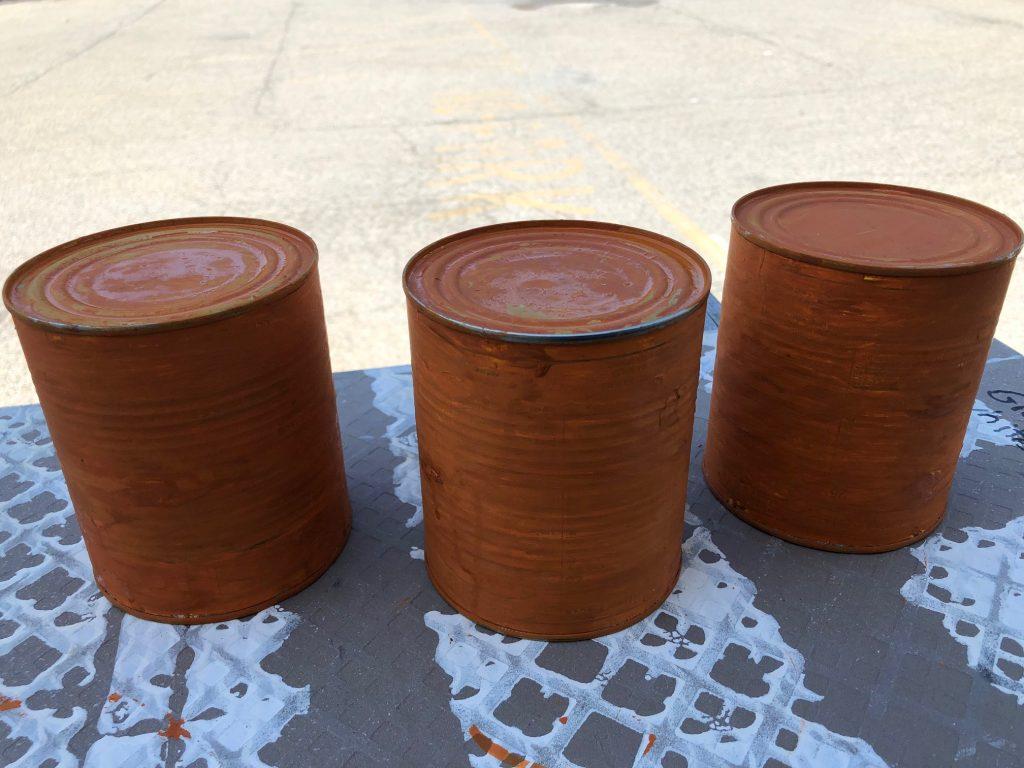 Budget friendly fall decor ideas. Fall pumpkin craft. Can upscycle craft diy. Dollar Tree crafts. Easy pumpkin diy