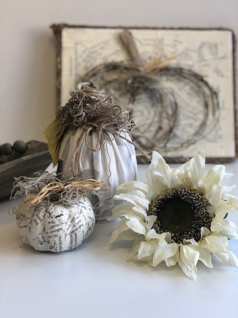 Love to re-purpuse items around the house. Learn how to decorate your space ont the budget this fall. Dollar Tree fall decor ideas