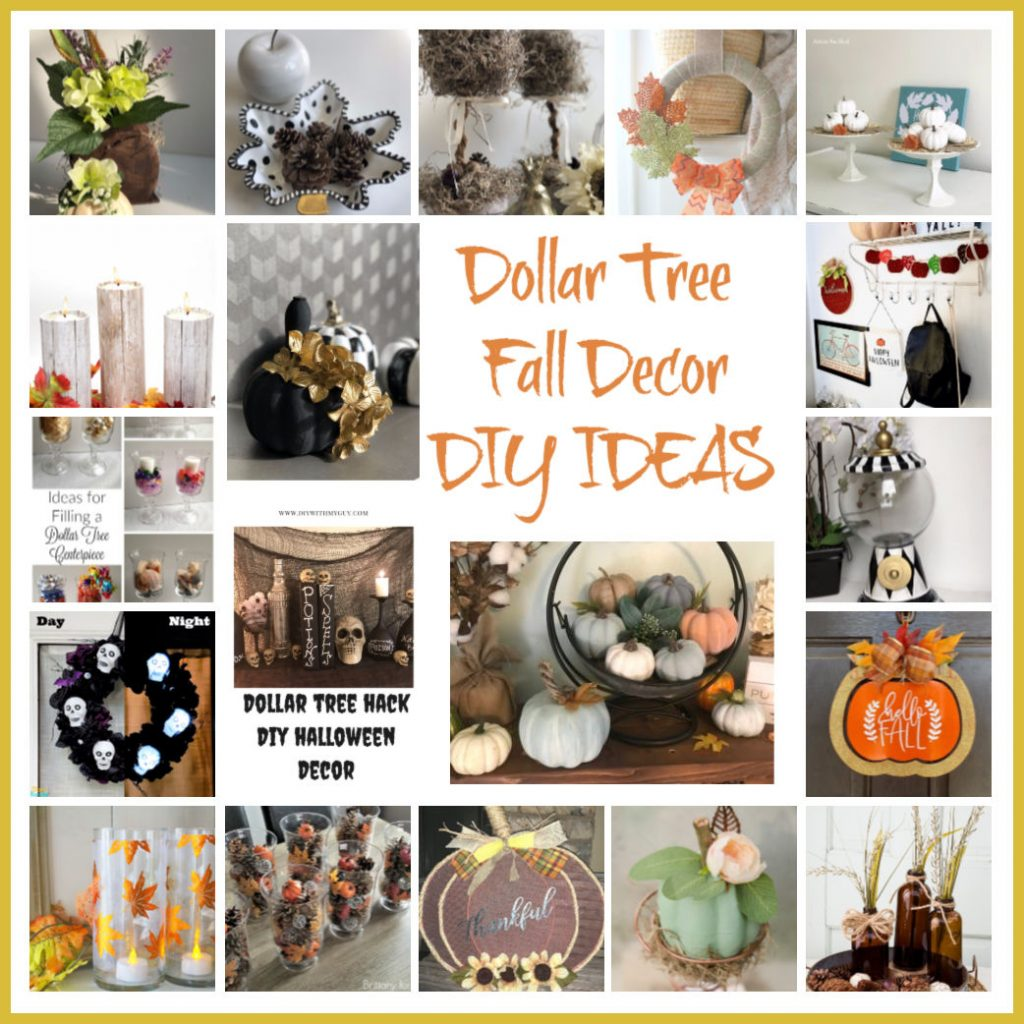 Dig in into fun and elegant Dollar Tree Fall Decor DIY Ideas!