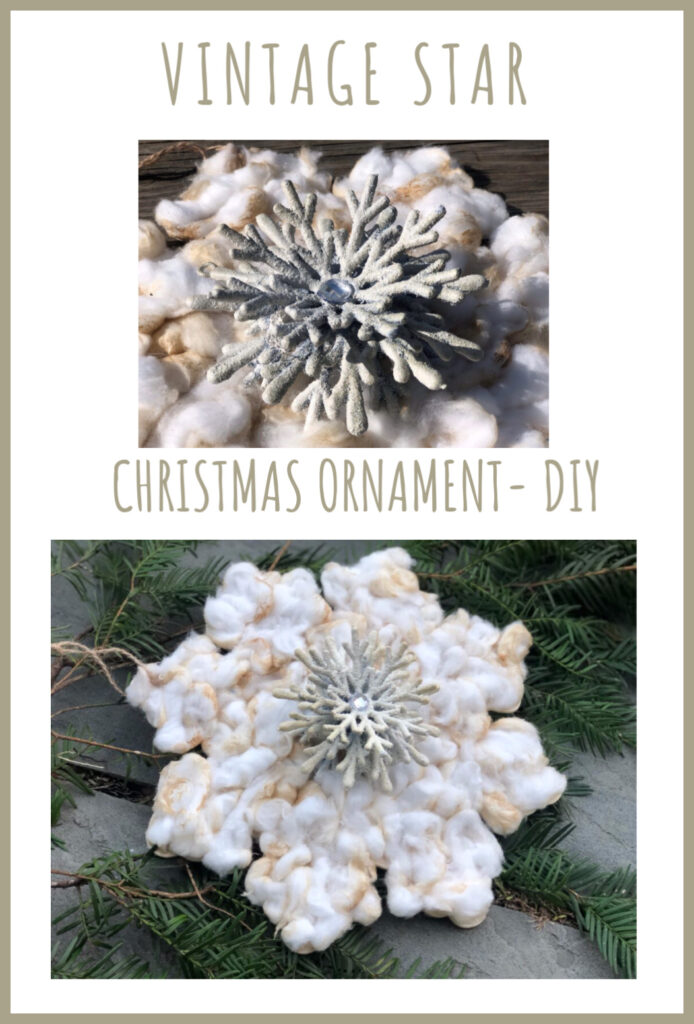 Super original Vintage looking Christmas ornament DIY. Easy to follow directions.Coffee dipped crafts