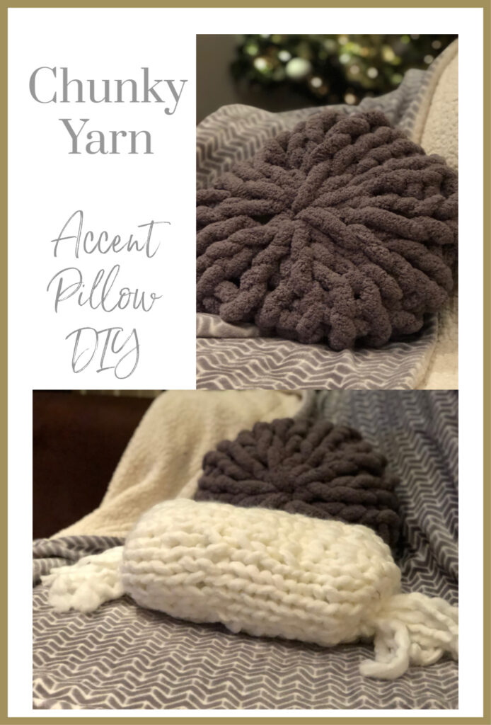 Have you ever worked with chunky yarn? It is such a rewarding process ... Chunky yarn projects are just perfect for the beginner knitter.
