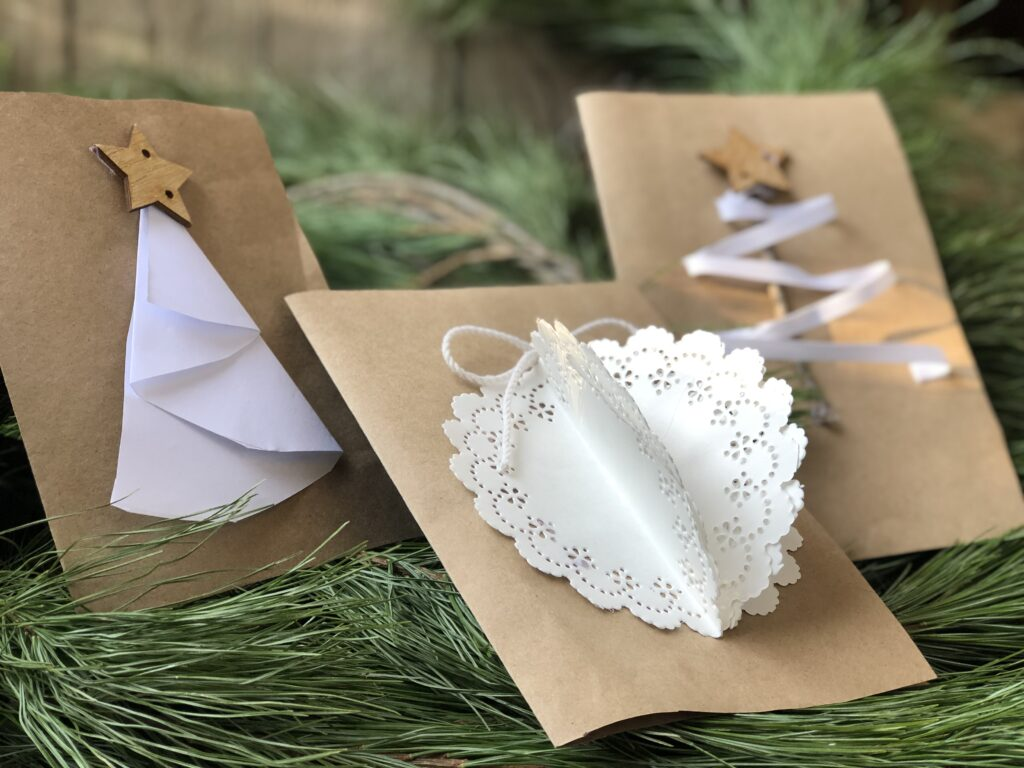 paper Christmas  cards ideas
