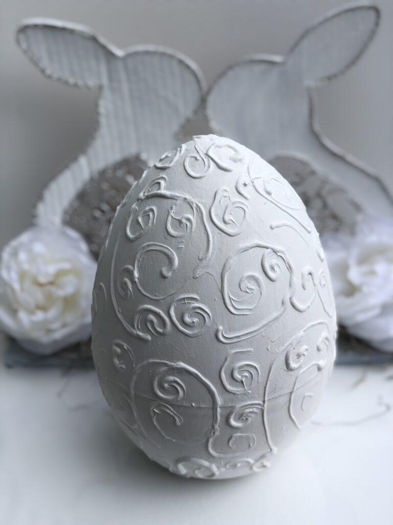Dollar Tree giant egg makeover