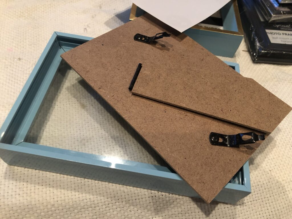 Shabby Chic Home Decor idea. Dollar Tree Picture frames drawer diy . How to build drawer. Drawer planter. Planter diy.Dollar Tree decor diy