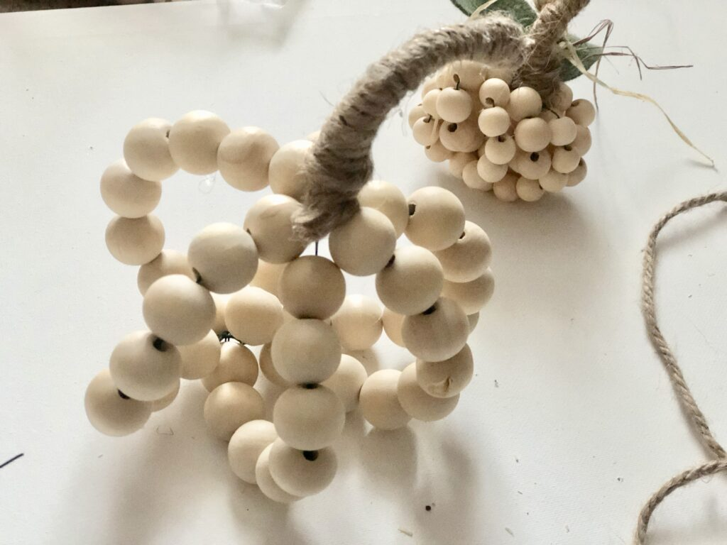 This super cute wooden beads craft pumpkin is the one you should make this fall. Super easy instructions to follow.