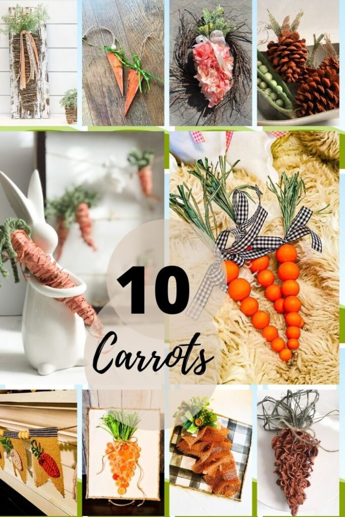 if you are not in the carrot wagon you will be now ! Make your carrots 10 different ways.Coolest 3d carrot ever made out of egg cartons project. Spring Easter tiered tray MUST accessory. Budget friendly Spring Easter decor diy