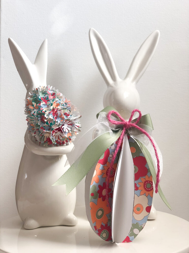 Let's decorate our trays or Easter tree with this stunning 3D Easter Eggs made out of paper. Easter paper crafting. Easter ornament diy